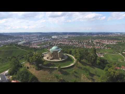 Grabkapelle Rotenberg Stuttgart Flug DJI Phantom 3