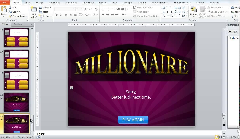 Point Clroom Millionaire