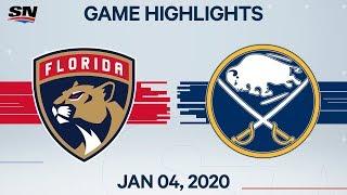 NHL Highlights   Panthers vs. Sabres – Jan. 4, 2020