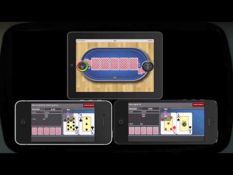 iPad Multiplayer Texas Holdem Tournament Poker on iPhones
