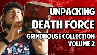 Unpacking Death Force - SUBKULTUR Grindhouse Collection Vol. 2