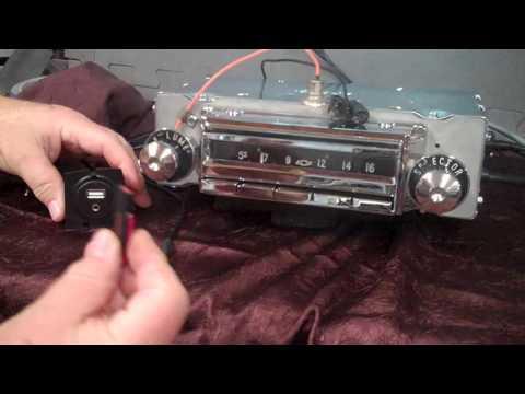 1955,56 Chevrolet Belair Original AM Wonder Bar Radio