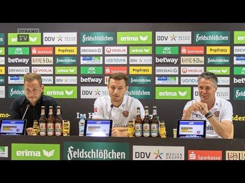 5. Spieltag | SGD - Aue | Pressekonferenz vor dem Spiel