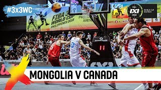 Mongolia v Canada | Full Game | FIBA 3x3 World Cup 2018