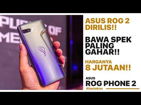 HP YANG BENERAN GAMING!! ASUS ROG PHONE 2 RESMI DIRILIS!! | Harga dan Spesifikasi #tautekno eps.43