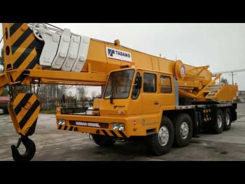 80 ton tadano used truck crane for sale