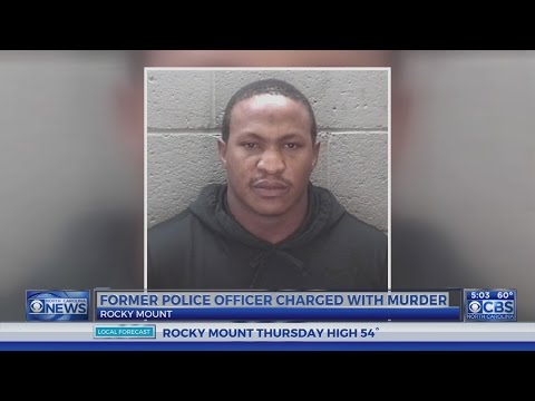 Former Rocky Mount police officer charged with first-degree murder