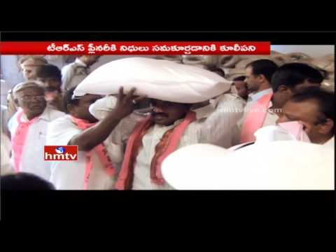 కూలిపని చేసిన మంత్రి | TRS Minister Jagadish Reddy Turns as Daily Worker | Nalgonda | HMTV