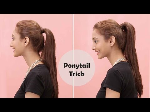how-to-get-the-perfect-ponytail-|-bobby-pin-trick