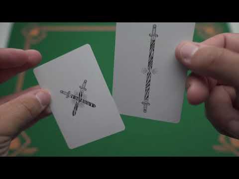 Zebra King Slayer Playing Cards video