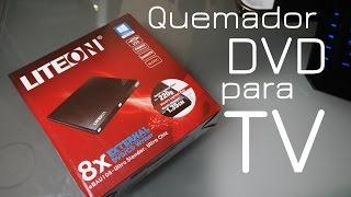 Quemador de DVD para TV | Unboxing
