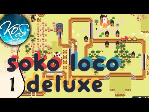 Soko Loco Deluxe - QUICK START GUIDE - (Puzzle Train Game) Let's Play, Ep 1