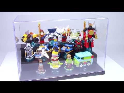 My LEGO Dimensions Display & Storage Set up! LEGO Display Box for ...