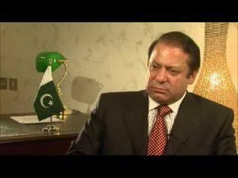 Nawaz Sharif talks to Al Jazeera - 23 Aug 07