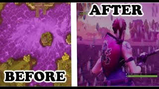 Comment obtenir UNDERNEATH PURPLE LOOT LAKE (fr) JEU ÉCRASÉ! (Fortnite BR Glitches)