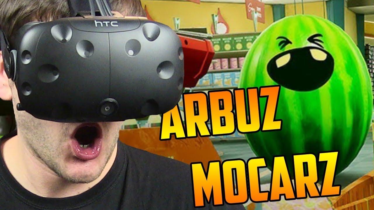 WIELKI ARBUZ MOCARZ – Shooty Fruity #2 (HTC VIVE VR)