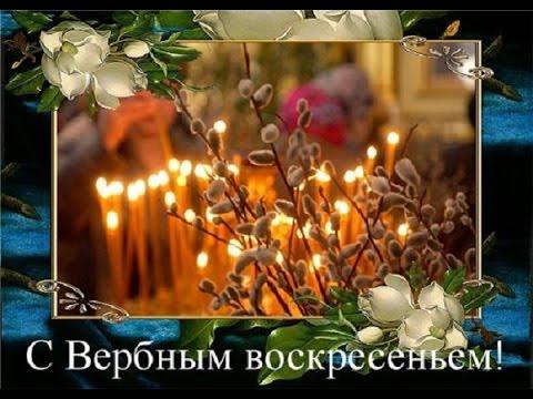 Красивая видео открытка  'С Вербным Воскресеньем' для друзей - Ржачные видео приколы