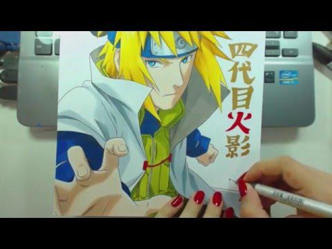 Speed Drawing - Namikaze Minato (Naruto)