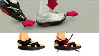 MBT Chaussures physiologiques Masai