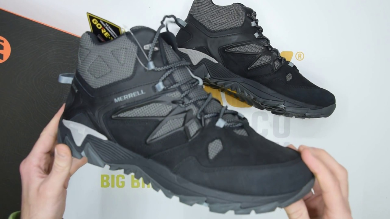 Merrell All Out Blaze 2 Mid GORE-TEX® - Black - Unboxing  0600038294