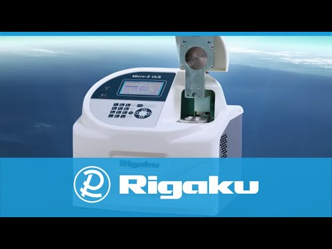 The Rigaku Micro-Z ULS for ultra-low sulfur in petroleum-based fuels
