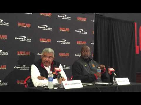 Mike Locksley and Kevin Anderson