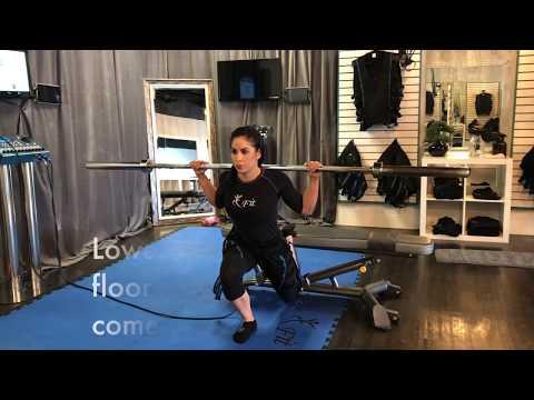 4U Fitness Bulgarian Split Squats