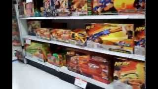 "Nerf Guns At ""Toys R Us"""