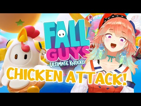 【FALL GUYS】I heard there's chicken costumes in this game #hololiveEnglish #holoMyth