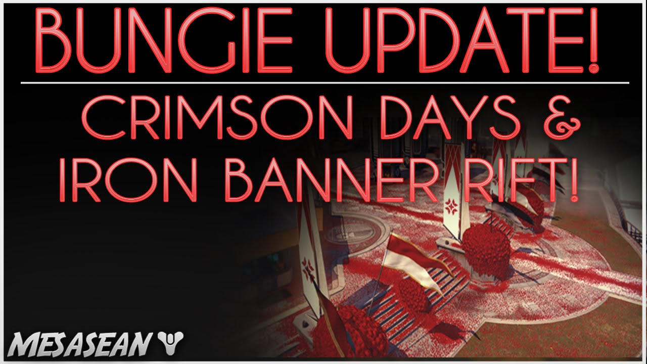 matchmaking iron banner Iron banner rift goes live today, and new matchmaking will be implemented on january 27 at 10 am pst the 24-hour gap will give bungie two sets of data to compare and scrutinize—all part of the plan.