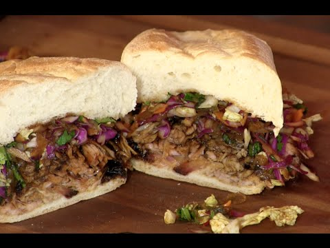 Pulled Pork Belly Sandwich (Asian Inspired Recipe!)