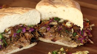 Pulled Pork Belly Sandwich