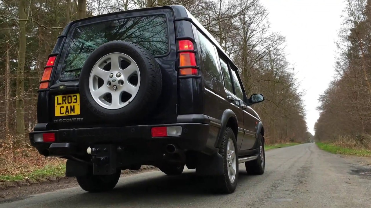 medium resolution of land rover discovery td5 exhaust sound