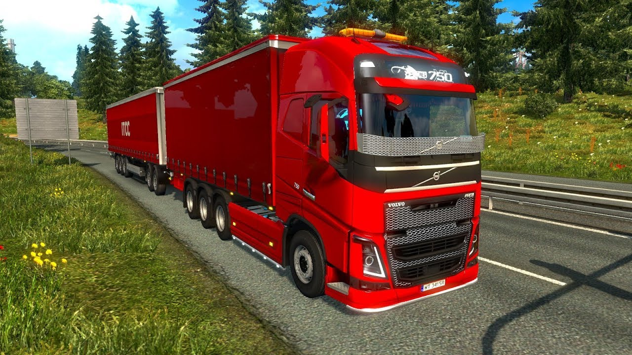 ets 2 mod volvo fh 2012 special transport euro truck. Black Bedroom Furniture Sets. Home Design Ideas
