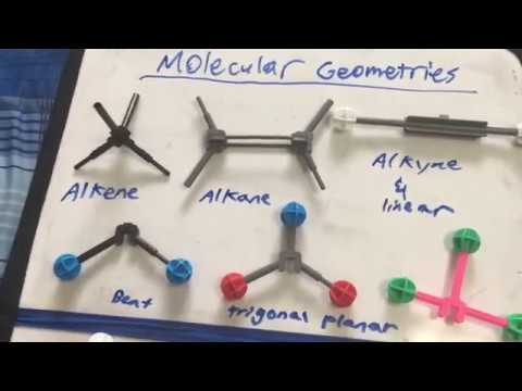 VSEPR Theory and Molecular Geometries || Chemistry
