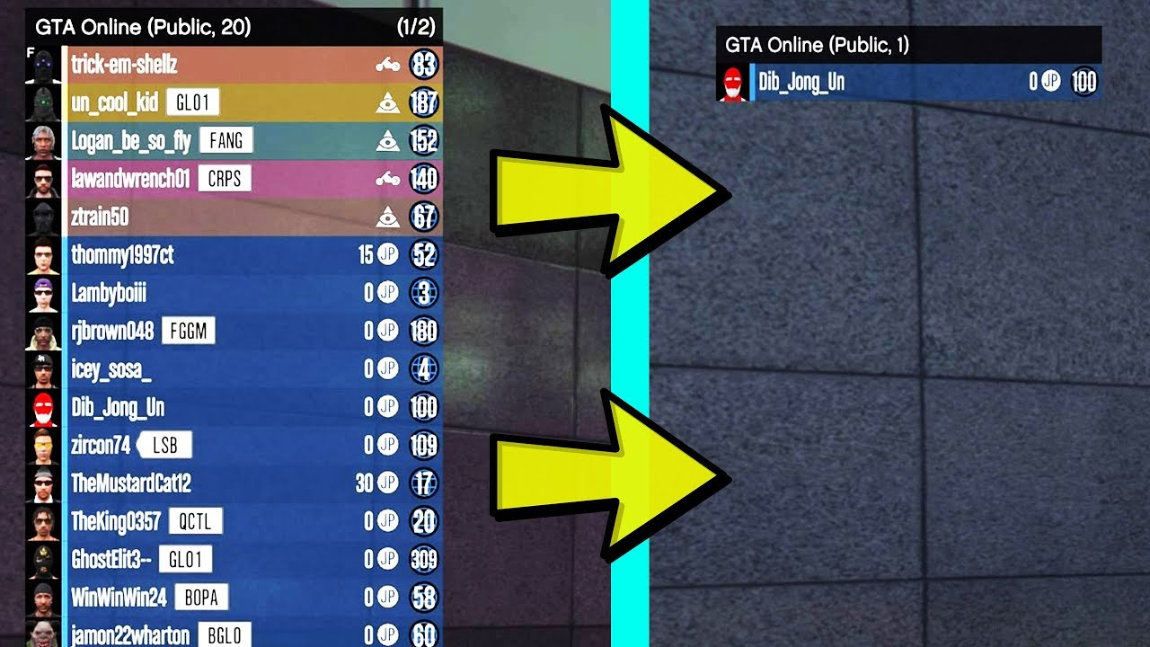 how to get a solo lobby gta 5