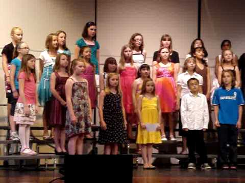 DeForest Area Middle School Fifth Grade Choir