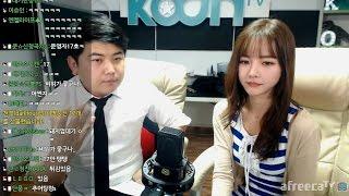 [2]  여캠 BJ'미유'와 함께하는 달달한 [실내게스트] 방송!! - KoonTV