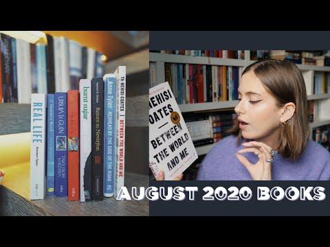 AUGUST 2020 BOOKS | sunbeamsjess