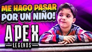 CUANDO me HAGO PASAR por UN NIÑO y ME HAGO 4000 de DAÑO en APEX LEGENDS