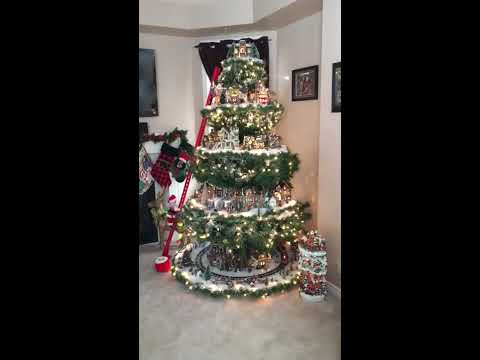 Cindy S Village In A Christmas Tree For Licensing Inquiries Contract
