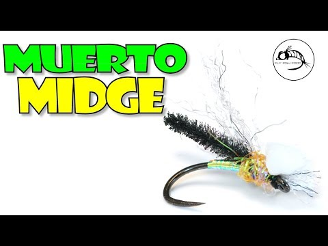 Muerto Midge - CHIRONOMID emerger or DRY fly