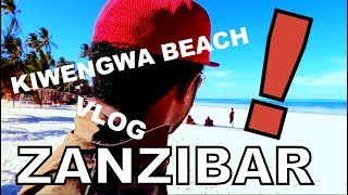 Things to do in Zanzibar island - KIWENGWA BEACH TANZANIA TRAVEL VLOG