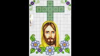 Patrones para punto de cruz especial religiosos | Aprende a hacer punto de cruz