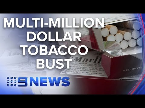 Tonnes of illegal tobacco uncovered by authorities in Sydney