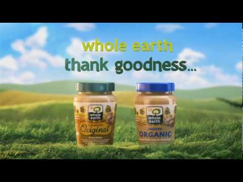 Whole Earth Peanut Butter  |  SNK Media