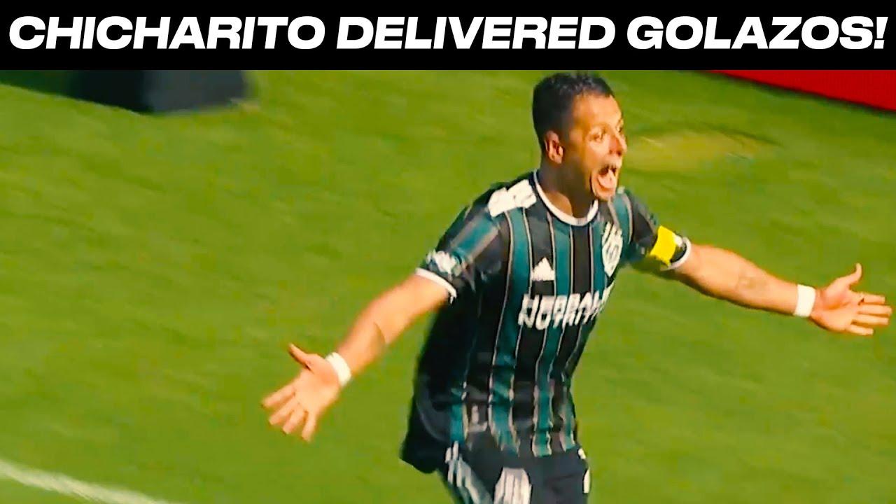 "Javier ""Chicharito"" Hernandez Scores TWO Goals in Season Debut!"