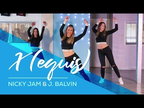 X (EQUIS) - Nicky Jam & J. Balvin - Easy Fitness Dance Video - Choreography