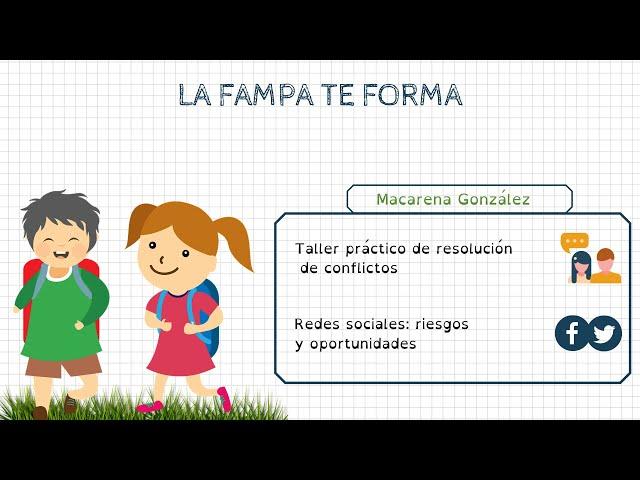 Formació FAMPA: Macarena González (Treballadora Social)