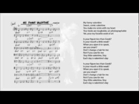 My Funny Valentine Chords & Lyrics - Chet Baker (Re-Mastered)